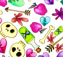 Bad Arrows & Broken Hearts  Sticker