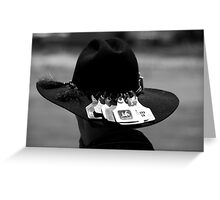 Rodeo Hat Greeting Card