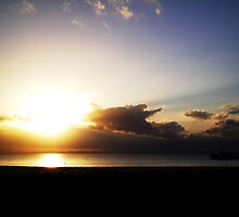 Amazing Sunset - Moreton Island by Jesss Leggatt
