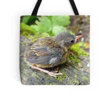 I'm A Beautiful Little Ugly.. Dunnock Hedge Sparrow - NZ Tote Bag