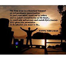 Happy New Year... 2013  Photographic Print