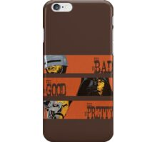 Spaghetti Western Cyborgs iPhone Case/Skin