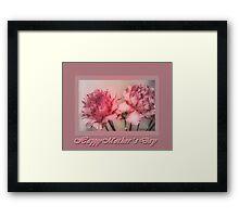 Carnation Mother's Day Framed Print