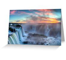 Iguazu Falls - Argentina Greeting Card