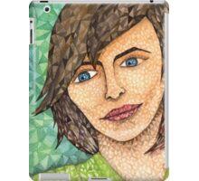 Girl in Green iPad Case/Skin