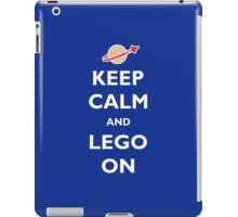 Keep Calm and Lego On iPad Case/Skin