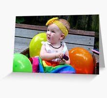 Rainbow Birthday Girl - Christchruch Greeting Card