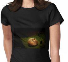 Sleeping snail 01 Womens Fitted T-Shirt