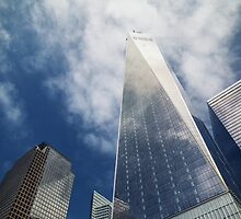 One World Trade Center in Colour (2014) by Andy Parker
