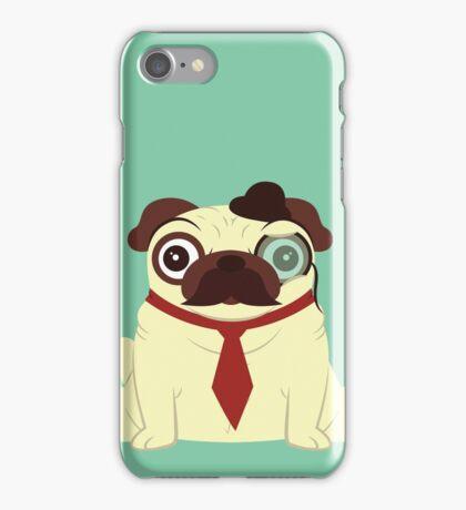 Pug in a Hat iPhone Case/Skin