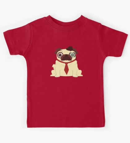 Pug in a Hat Kids Tee