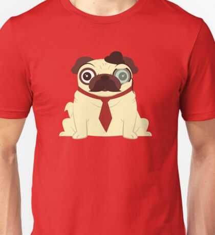 Pug in a Hat Unisex T-Shirt