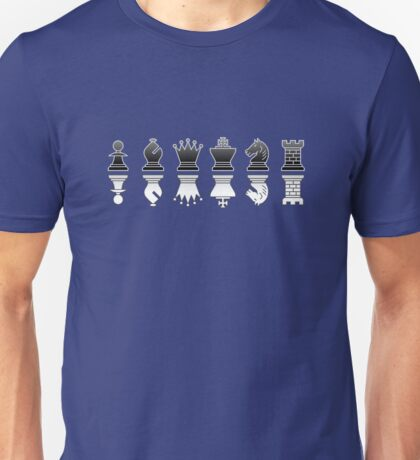 Chess - Black and white reflection T-Shirt