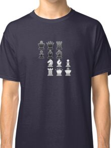 Chess - Black and white blocks Classic T-Shirt