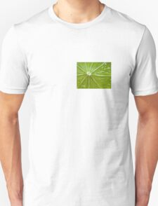 Lime abstract T-Shirt