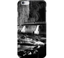 The River BW iPhone Case/Skin