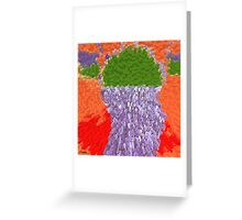 CASCADE OF REFRESHMENT Greeting Card