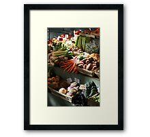 veg Framed Print