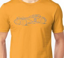 Lotus 7 Technical Drawing Unisex T-Shirt