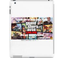 GTA Online heists iPad Case/Skin