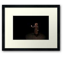 Tim 'Back' Stage Framed Print