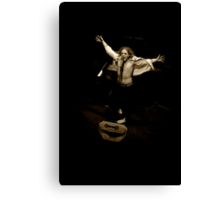 Tim Minchin - Blow Drying Canvas Print