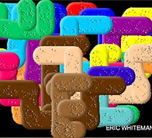 (ANOTEHR HARDEDGE ) ERIC WHITEMAN  ART  by eric  whiteman
