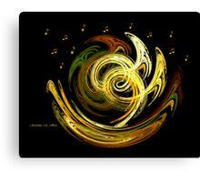 TROMBONES Canvas Print