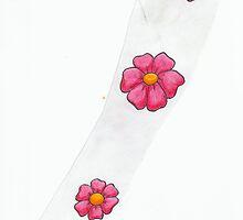 four flowers by godofthemind