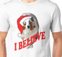 Autralian Shepherd Christmas themed Unisex T-Shirt