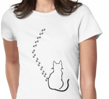 Meow! Womens Fitted T-Shirt
