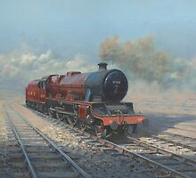Atlas.  Jubilee Class Locomotive. by Richard Picton