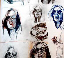 Photostudies 3.20.07  9 by12 by Micheal Bilyeu