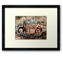 Retired Since 1985 Framed Print