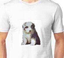Australian shepherd puppy Unisex T-Shirt