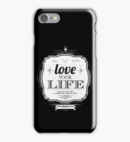 Love Your Life iPhone Case/Skin