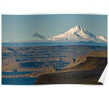 Mt Hood from Mary Hill, WA. USA Poster
