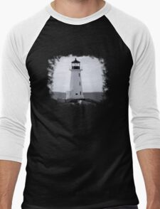 Peggy's Cove Lighthouse Tee Men's Baseball ¾ T-Shirt