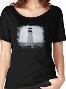 Peggy's Cove Lighthouse Tee Women's Relaxed Fit T-Shirt