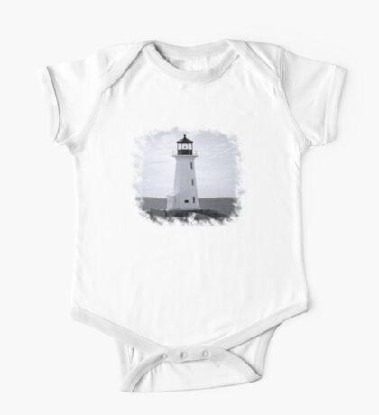 Peggy's Cove Lighthouse Tee One Piece - Short Sleeve