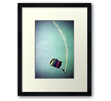 Rainbow in Motion Framed Print