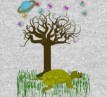 The Turtle and the Tree Mens V-Neck T-Shirt