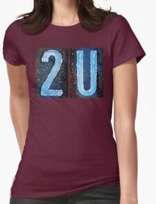 2U Womens Fitted T-Shirt