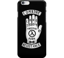 Resistance Hand iPhone Case/Skin