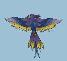 Purple Phoenix by InspiREDbubbles