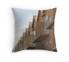 Condo City Throw Pillow