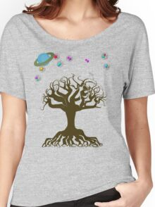 The Tree and The Magical Sky Women's Relaxed Fit T-Shirt