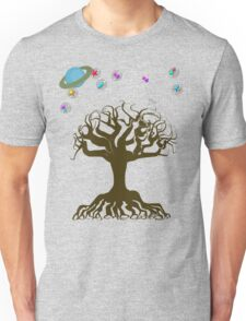 The Tree and The Magical Sky Unisex T-Shirt