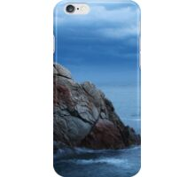 seascape  rock in the sea iPhone Case/Skin