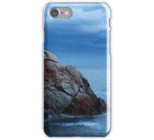seascape  rock in the sea iPhone Case/Skin